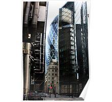 Lloyds Building & Gerkin Poster