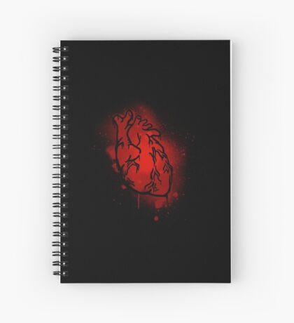 The Heart That Beats Spiral Notebook