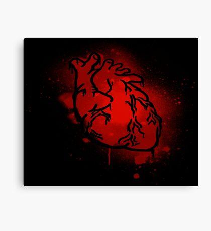 The Heart That Beats Canvas Print