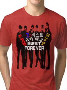 ♥♫I Love B2ST Forever Splendiferous K-Pop Clothes & Stickers♪♥ Tri-blend T-Shirt