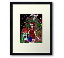 Christmas 2015 a time for celebration & reflection Framed Print