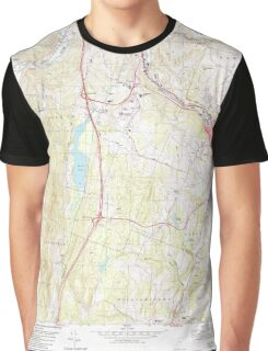 USGS Topo Map  Vermont VT Barre West 337304 1978 24000 Graphic T-Shirt