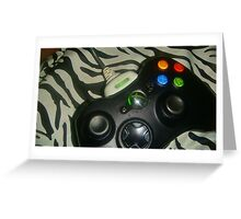 Xbox360 Controller - No Filter Greeting Card