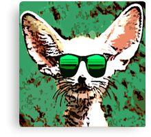 Big Ears Cool Canvas Print