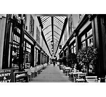 Wyndham Arcade, Cardiff Photographic Print
