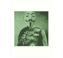 Anon General Art Print