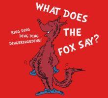 What Does the Fox Say? Kids Clothes