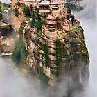 The flying monastery-Meteora by Hercules Milas