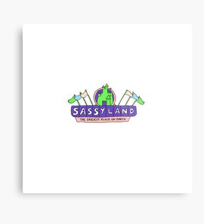 sassyland Metal Print