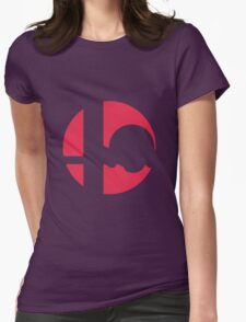 Kirby - Super Smash Bros. Womens Fitted T-Shirt