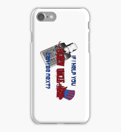 Screw Uncle Sam Tax Humor iPhone Case/Skin