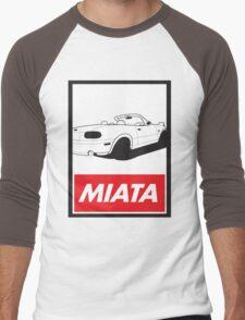 Obey Miata Men's Baseball ¾ T-Shirt