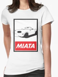 Obey Miata Womens Fitted T-Shirt