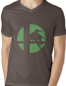 Link - Super Smash Bros. Mens V-Neck T-Shirt
