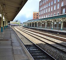 Newport Train Station by Paula J James