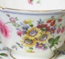 tea cup Sticker