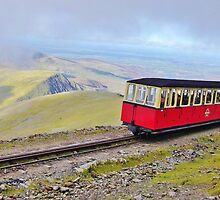 Snowdon Mountain Railway by Paula J James