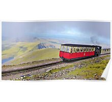 Snowdon Mountain Railway Poster