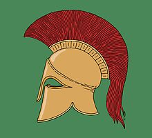 Corinthian Helmet by Richard Fay