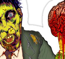 Dead Guys Rule - Zombie Ice Cream Sticker