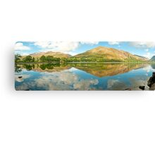 Buttermere (Panorama)  Canvas Print