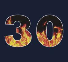 30 (Fire) One Piece - Short Sleeve