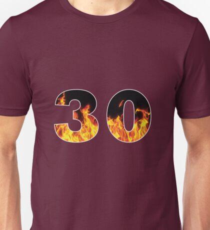 30 (Fire) Unisex T-Shirt