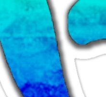 Kirwan Logo - Blue Fade Sticker