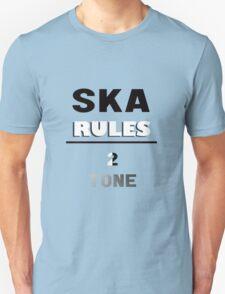 SKA RULES - 2 TONE T-Shirt