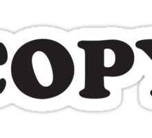 Copy Paste (Copy) Sticker