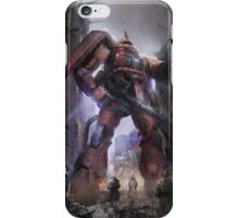 Zaku Char Aznable Custom One Year War iPhone Case/Skin