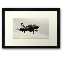 Fly Navy Hawk Framed Print