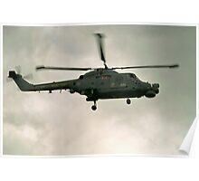 Navy Lynx  Poster