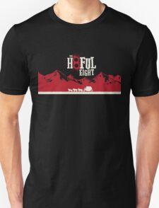 The Hateful Eight 2015 guns logo 5 Unisex T-Shirt