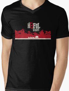 The Hateful Eight 2015 guns logo 5 Mens V-Neck T-Shirt