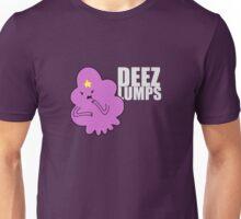 DEEZ LUMPS (White-ish Text Version) Unisex T-Shirt