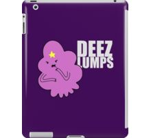 DEEZ LUMPS (White-ish Text Version) iPad Case/Skin