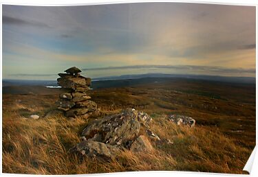 Croaghnameal Summit by Adrian McGlynn