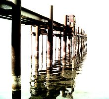 Pier to Nowhere by ChrisGPrints