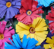 Moldova Paper Flower Art by Megan Nicole