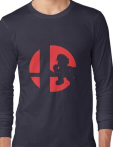 Mario - Super Smash Bros. Long Sleeve T-Shirt