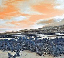 Orange Sky by ChrisGPrints