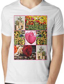 spring time Mens V-Neck T-Shirt