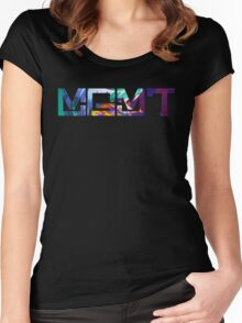 MGMT #3 Women's Fitted Scoop T-Shirt
