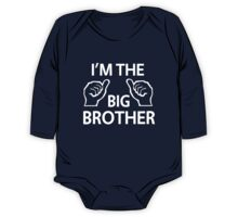 I'm the big brother One Piece - Long Sleeve