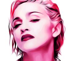 Madonna - Pink - Pop Art by wcsmack