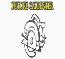 Future Carpenter Yellow Vintage Kids Tee
