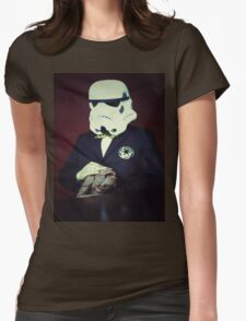 Don Trooper Womens Fitted T-Shirt