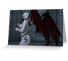 Demonic Love Greeting Card