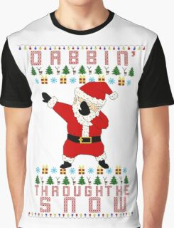 Dabbing Santa Graphic T-Shirt